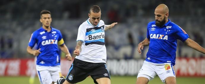 Cruzeiro e Grêmio voltam a se enfrentar no Mineirão na próxima quarta (26) (Foto: GE/Reprodução)