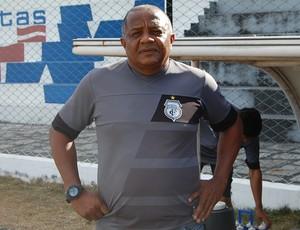 Mano Costa, técnico do Treze Sub-19 (Foto: Iago Bruno / GloboEsporte.com/pb)