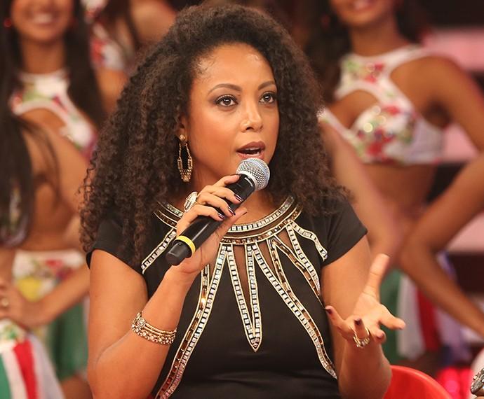 Negra Li relembra momentos do Dança (Foto: Carol Caminha / Gshow)