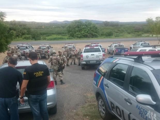 Operação Capoeira foi realizada em Petrolina-PE e Cajazeiras-PB (Foto: Divulgação/Polícia Civil)