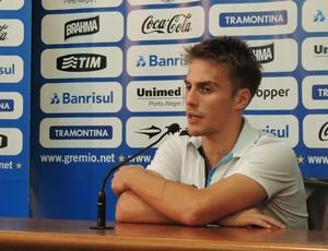 Bresan Gremio entrevista (Foto: Eduardo Deconto/GLOBOESPORTE.COM)