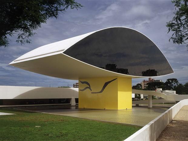 MON fica no bairro Centro Cívico, em Curitiba (Foto: Divulgação/ MON)