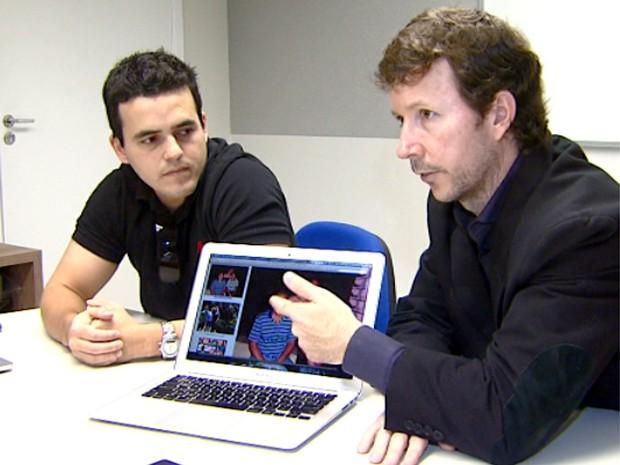 Pesquisadores da Unicamp desenvolveram software que verifica se foto foi fraudada (Foto: Erlin Schmidt / EPTV)