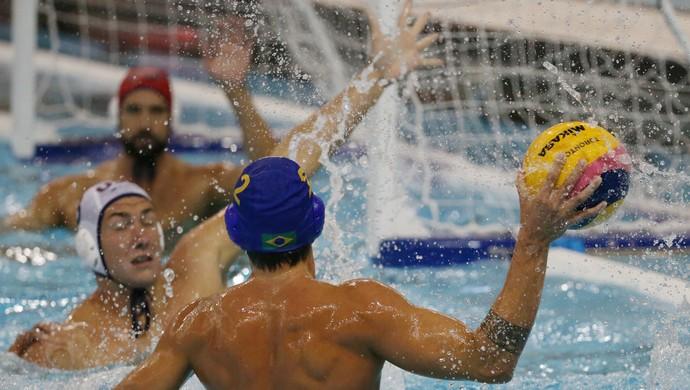 Brasil x Estados Unidos final Pan polo aquático masculino (Foto: Estadão Conteúdo)