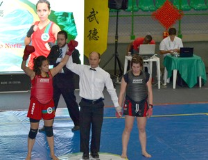 Maria Clara Pereira, do Rio Grande do Norte, é campeã brasileira de kung fu wushu (Foto: Divulgação)