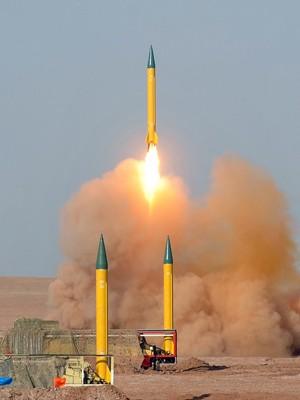 míssil, irã (Foto: Arash Khamoushi/ISNA News Agency/AFP)