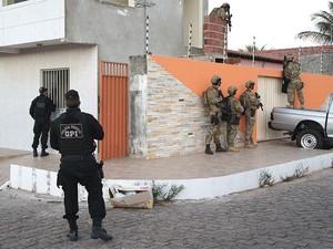 Operação 'Thanatus' foi iniciada na manhã desta terça (8) (Foto: Divulgação/PF)