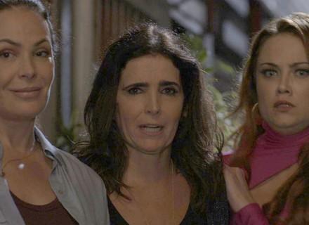 Penélope, Rebeca e Leonora são surpreendidas durante tentativa de fuga