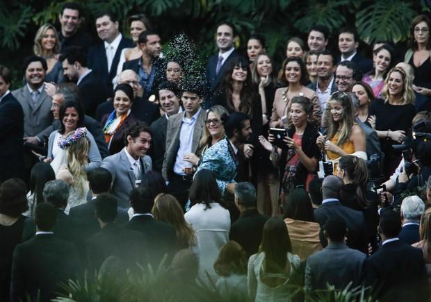 Fiorella Mattheis e Flavio Canto se casam (Foto: Leo Marinho/Agnews)