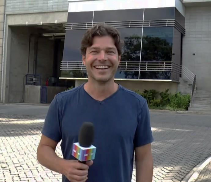 Erik Marmo relembra personagens na TV e fala da vida no exterior (Foto: TV Globo)