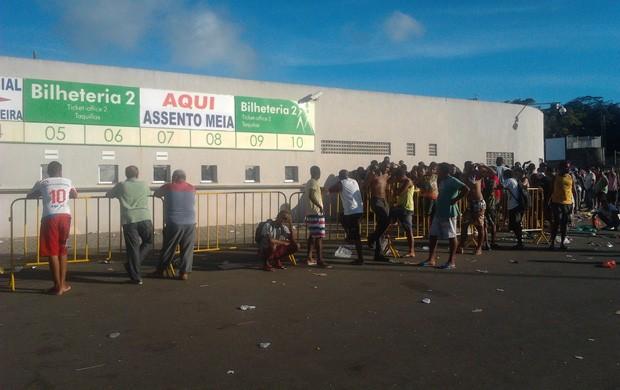 pituaçu; ingresso (Foto: Thiago Pereira/Globoesporte.com)