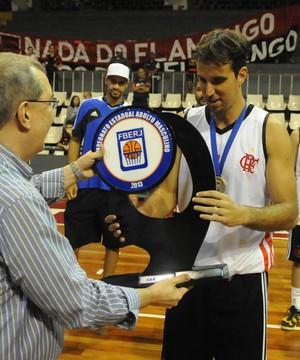 Marcelinho basquete Flamengo (Foto: André Durão / Globoesporte.com)