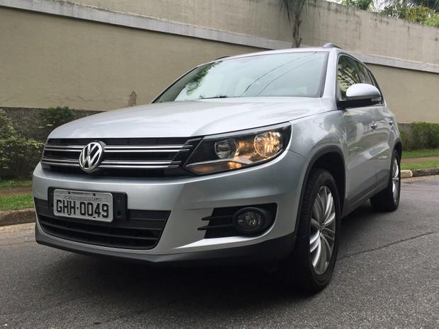 Volkswagen Tiguan 1.4 (Foto: André Paixão/G1)