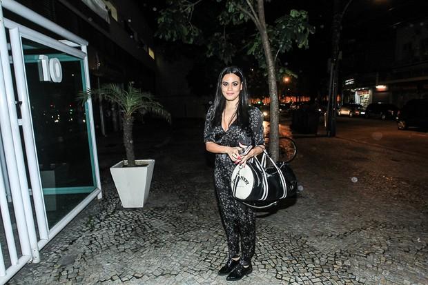 Letícia Lima (Foto: Marcelo Sá Barretto/AgNews)