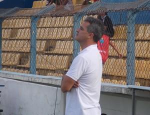 Treinador do Maranhão, Vinícius Saldanha (Foto: Bruno Alves/Globoesporte.com)