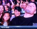 """UFC Austin: Nate Diaz quase acende baseado na TV, e Lewis dá """"aviso"""" à esposa"""