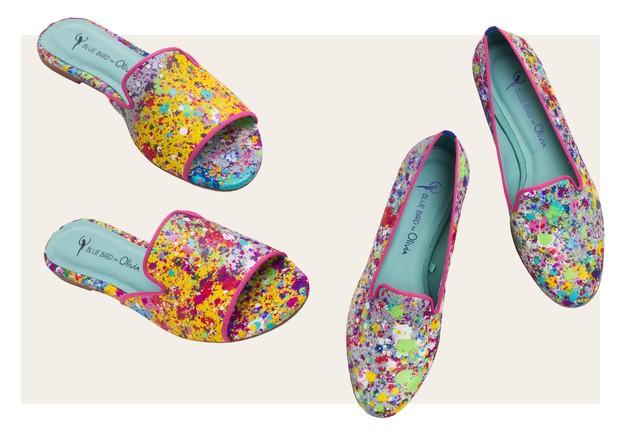 Sapatos Olivia Lambiasi (Foto: Reprodução)