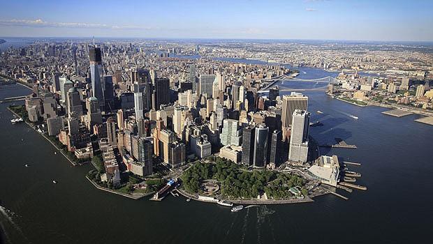Nova York vista do alto (Foto: Reprodução/PrivateFly)