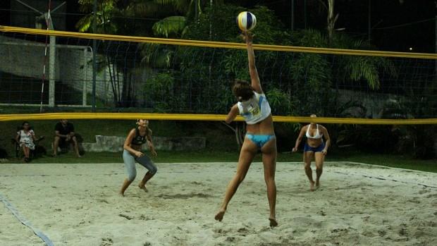 vôlei praia amazonas (Foto: Frank Cunha/Globoesporte.com)