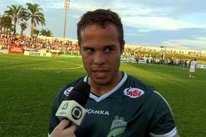 Douglas Baggio, do Luverdense (Foto: Reprodução/TVCA)