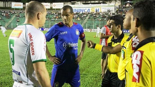 Arapongas Rivaldo São Caetano Copa do Brasil (Foto: Carlos Duarte/Arapongas FC)