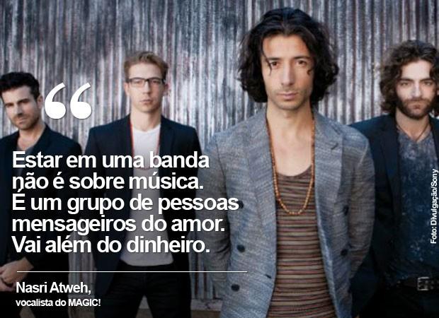 MAGIC! vai tocar em setembro no Palco Sunset do Rock in Rio (Foto: Divulgação/Sony)
