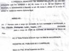 MP investiga parlamentar de Santana do Paraíso por acúmulo de funções