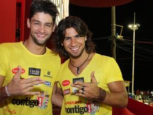 Munhoz e Mariano (Foto: Ronaldo Silva/G1)