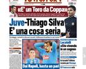 Juventus sonha com Thiago Silva para o ano que vem, afirma jornal de Turim