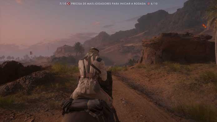 Cavalos são novidade de Battlefield 1 (Foto: Reprodução/Murilo Molina)