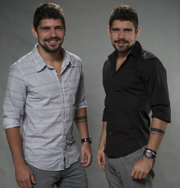 Tiago e Diego Homci contracenaram na novela 'Além do Horizonte' (2013) (Foto: Divulgação/TV Globo)