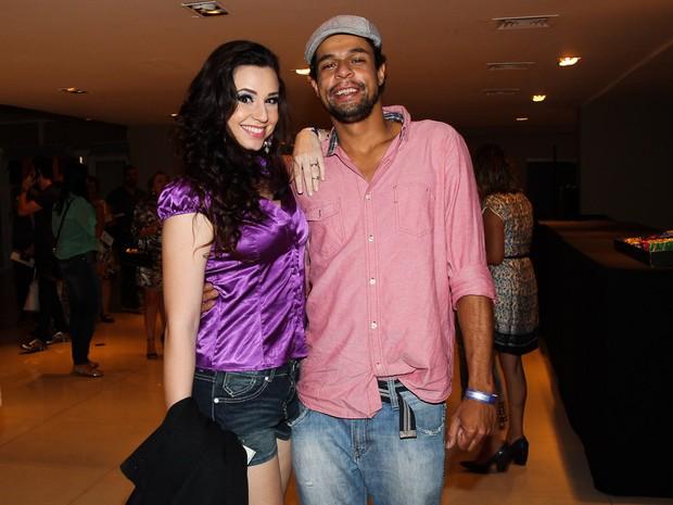 Francis Helena e Pierre Bittencourt em peça em São Paulo (Foto: Manuela Scarpa/ Foto Rio News)