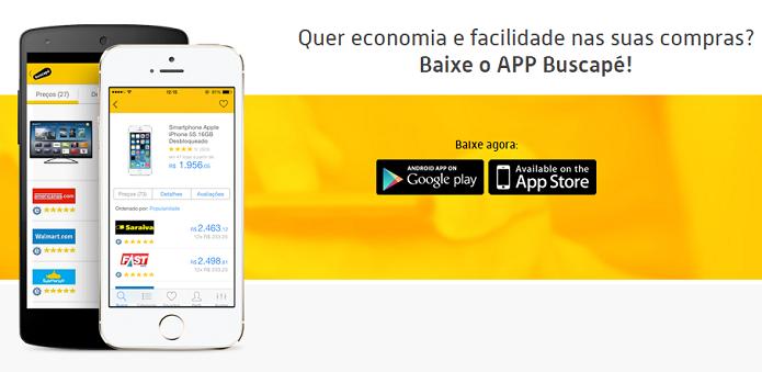 Buscapé tem apps para Android e iOS (Foto: Reprodução/Aline Jesus)
