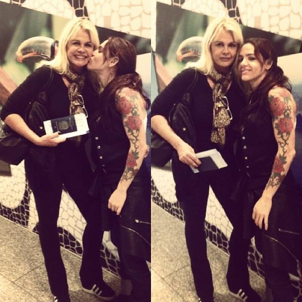 Monique Evans e Caca Werneck (Foto: Instagram / Reprodução)