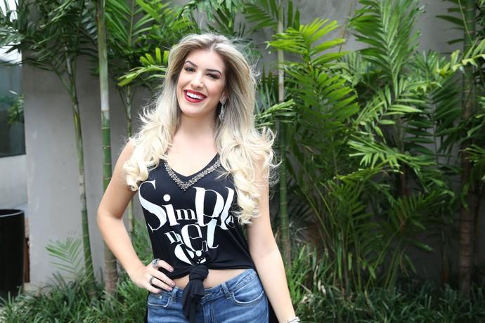 Lorena Improta: Tatuagens pequenas só são vistas quando ela quer (Foto: Carol Caminha/Gshow)
