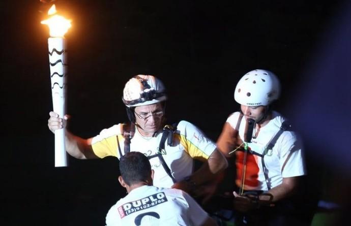 Parapente tour da tocha governador valadares Moisés sodré (Foto: Divulgação/Rio 2016)