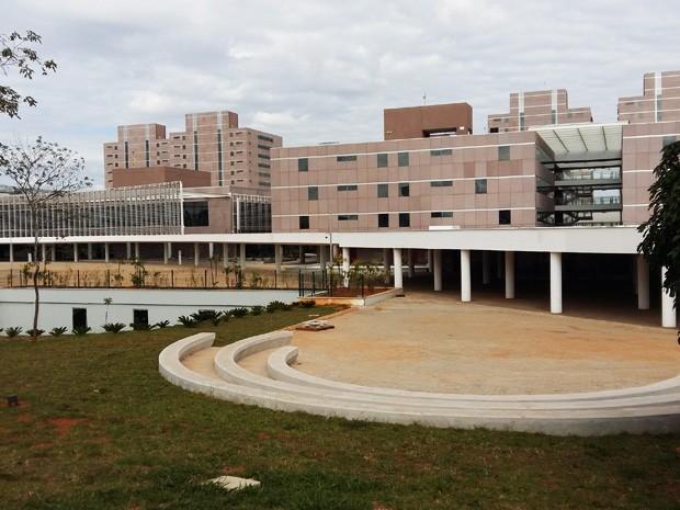 Novo Centro Administrativo do governo do Distrito Federal, em Taguatinga (Foto: Isabella Calzolari/G1)