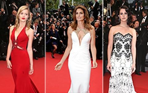 Vilão do tapete vermelho, vestido com cauda já apareceu em Cannes