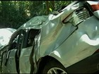 Pai e filha morrem em acidente que pode ter sido causado por buraco