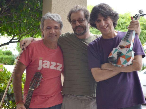 Lula Ribeiro apresenta dupla gaúcha em show de Aracaju (Foto: Joelma Gonçalves/ G1)