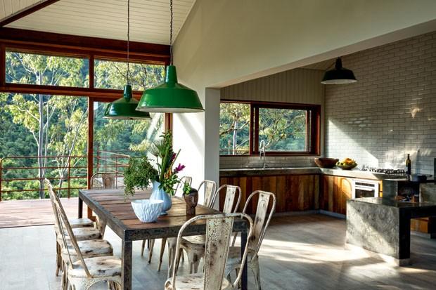 decoracao de interiores para casas de campo:Casa de campo em meio às araucárias – Casa Vogue