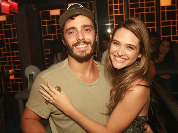 Thiago Rodrigues e Juliana Paiva em boate na Zona Oeste do Rio (Foto: Marco Macedo/ Divulgação)