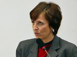 A ex-presidente do Banco Rural Kátia Rabello, que é uma das principais acionistas da empresa (Foto: Agência Brasil)