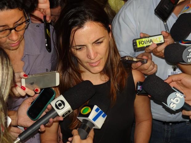 Cecília Ramos, viúva de Carlos Percol (Foto: Luna Markman/G1)