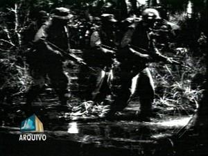 O governo da ditadura brasileira combateu os guerrilheiros a partir de 1972, quando vários dos integrantes já haviam se estabelecido na região há pelo menos seis anos (Foto: Reprodução/TV Liberal)
