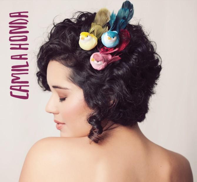 Capa do primeiro disco de Camila Honda (Foto: reprodução)