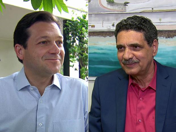 Geraldo Julio (PSB) e João Paulo (PT) disputam o segundo turno para prefeito do Recife (Foto: Reprodução/TV Globo)