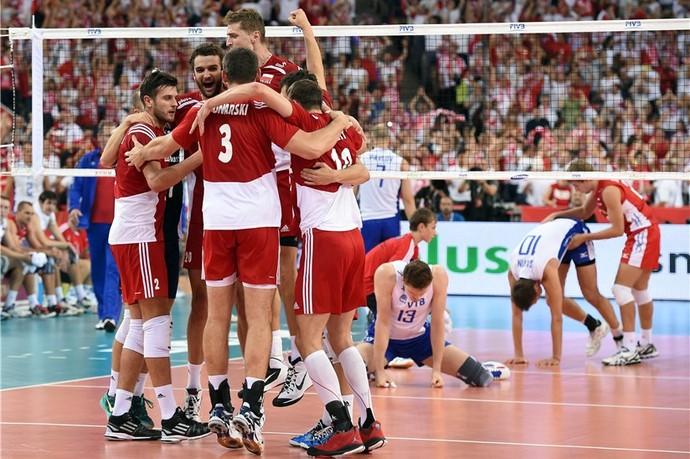 Russia x Polonia Mundial Vôlei (Foto: Divulgação/FIBV)