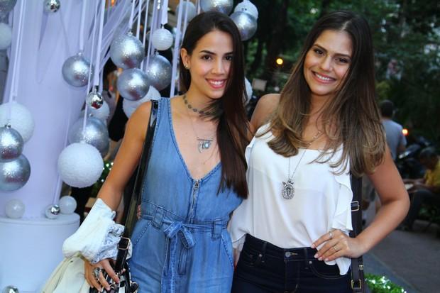 Jessika Alves e Perola Faria (Foto: Anderson Borde / AgNews)
