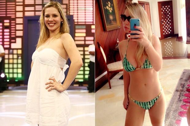 Ana Carolina Madeira fez dieta e investiu na malhação: ganhou corpo magro e tonificado  (Foto: TV Globo/Divulgação/Reprodução)